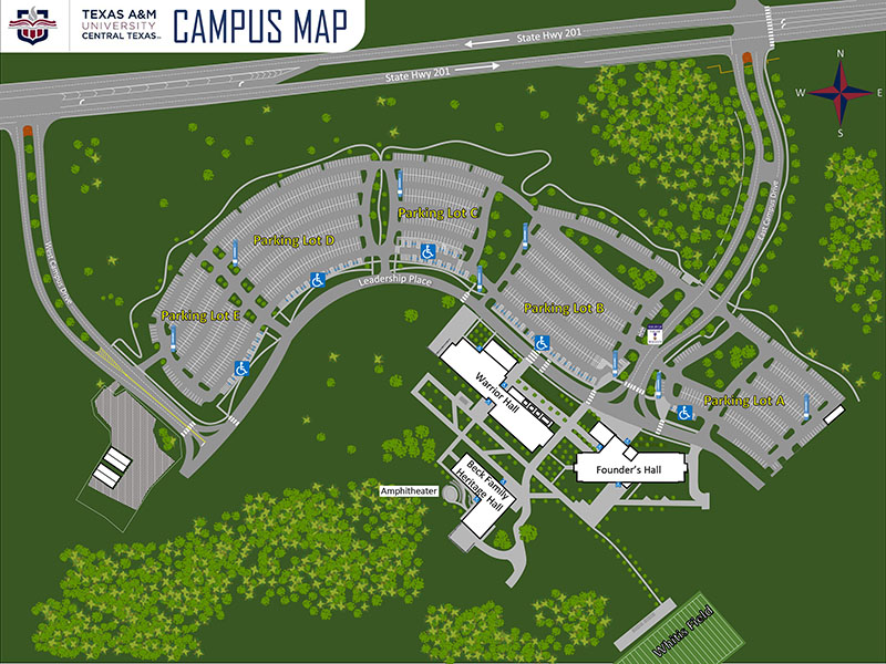Texas A&M University-Central Texas campus map