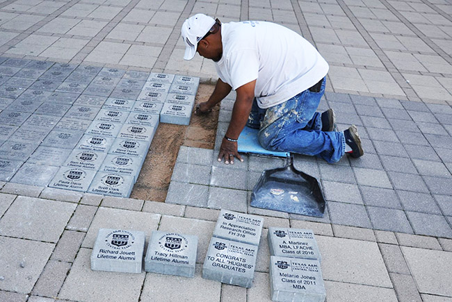 Leave your mark on campus with an A&M-Central Texas Paver!